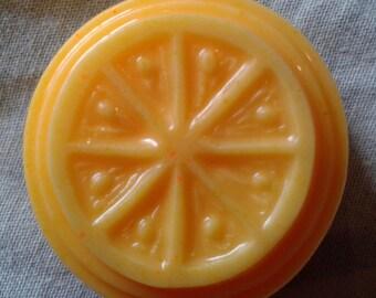 Citrus tartlet soaps