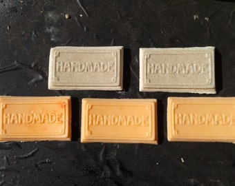 Hand made guest soap