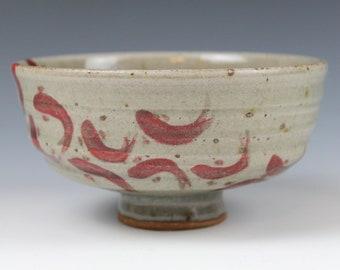 Celadon bowl November 2020 No.6 , Koi fish, Wheel-Thrown