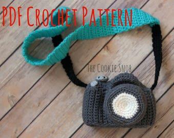 Camera Amigurumi Stuffed Toy Crochet Pattern