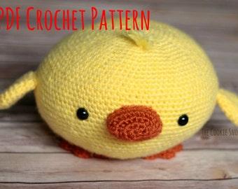 Amigurumi Stuffed Duck Crochet Pattern