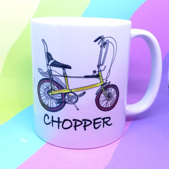 Raleigh Chopper bike ceramic mug