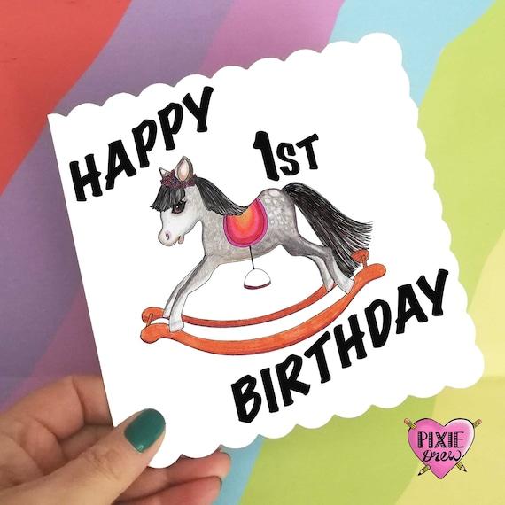 Geburtstagskarte baby 1 jahr