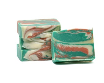 West Coast Trail Cold Process Soap, Handmade Soap Canada, Natural Soap with Coconut Oil, Soap That Smells Like the Forest,Chemical-free Soap