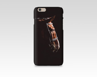 Dressage Horse Phone Case, iPhone 7 case, Samsung S7, iPhone 6, iPhone 5 case, Samsung S6, Equine Photography, iPhone 7 Plus, Black, Dark