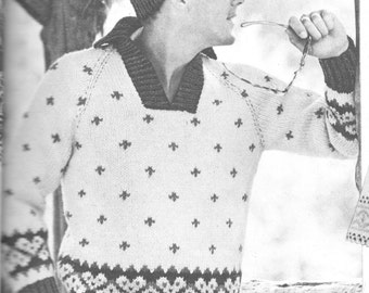 44345cce345c4c 585 Cardigan Sweater Knitting Pattern Size Small Medium and