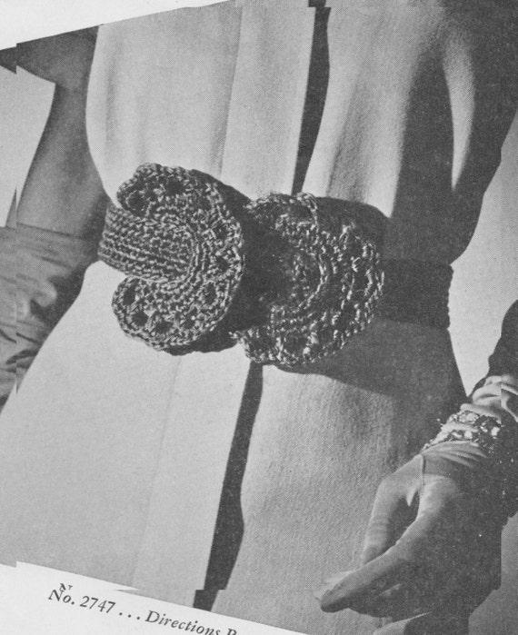 363 Belt Crochet Pattern Ladies Belt Pattern Free Crochet Etsy
