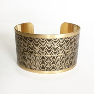 36mm brass and paper cuff