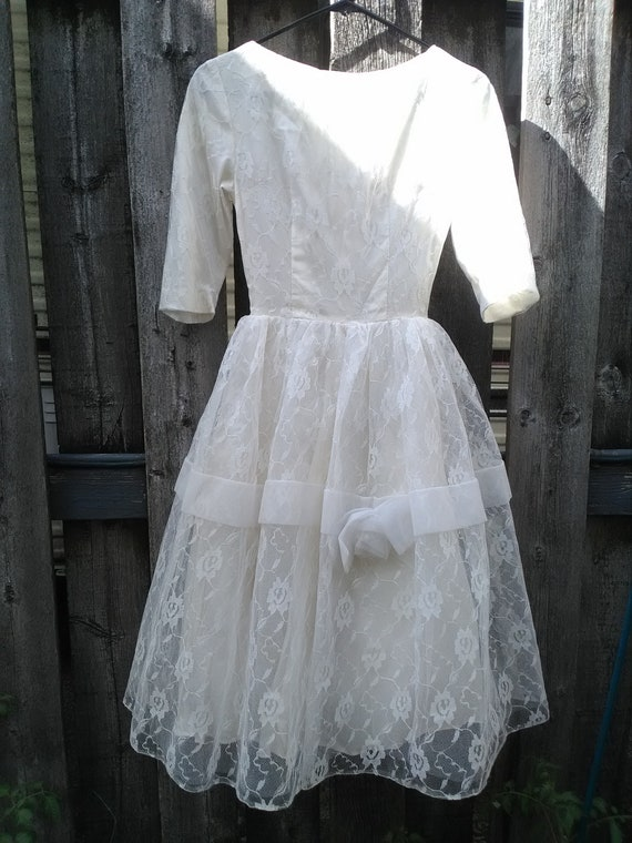 1950s wedding dress lace wedding dress vintage wed