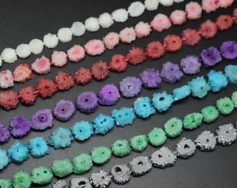 Solar Quartz -(30x beads) Various Colors!