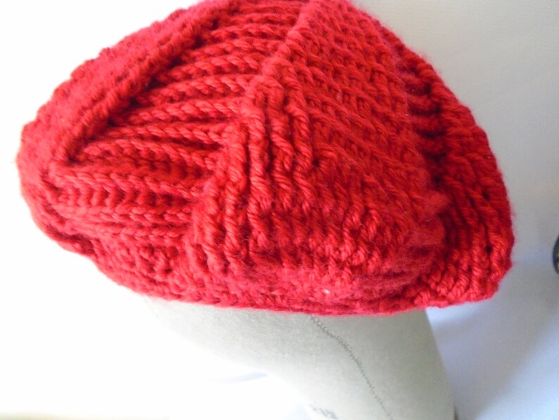 10884fd1cbd NEW WINTER STYLE Christmas Crochet Red Hat Christmas