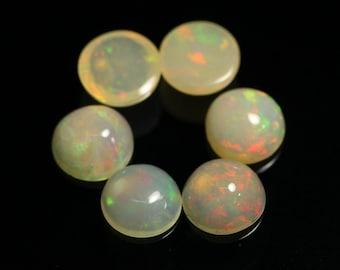 Details about  /Wholesale Lot Ethiopian Opal 7 mm Round Natural Ethiopian Opal Fire Opal