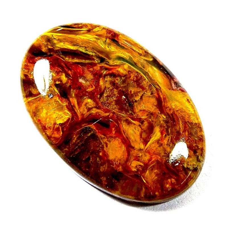 1 Piece Natural Pietersite Cabochon 15x22mm Oval Shape Cabs Genuine Pietersite Gemstones Cab Semi Precious Loose Stones Smooth Gems