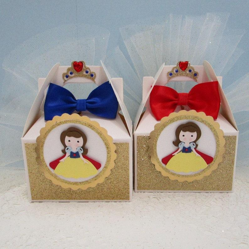 Snow White Party Snow White Favor Boxes Snow White Party Favors Snow White Birthday Party.