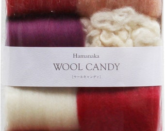 Pack of 8 wool to felt - Set 8 wool felt