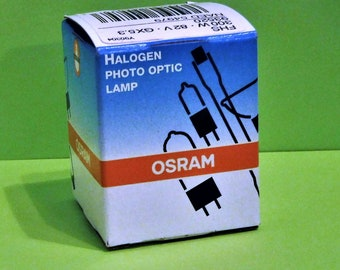 OSRAM 300W PROJECTION Lamp...Halogen...New In Box...For Overhead and Slide Projectors...Osram Part Number 54979...Free Shipping!