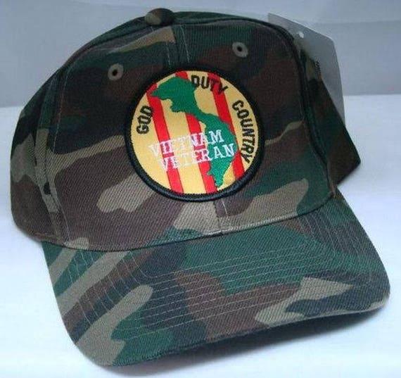 2ba68adf0dd Vintage Vietnam Veteran Low Profile Ball Cap Never Worn