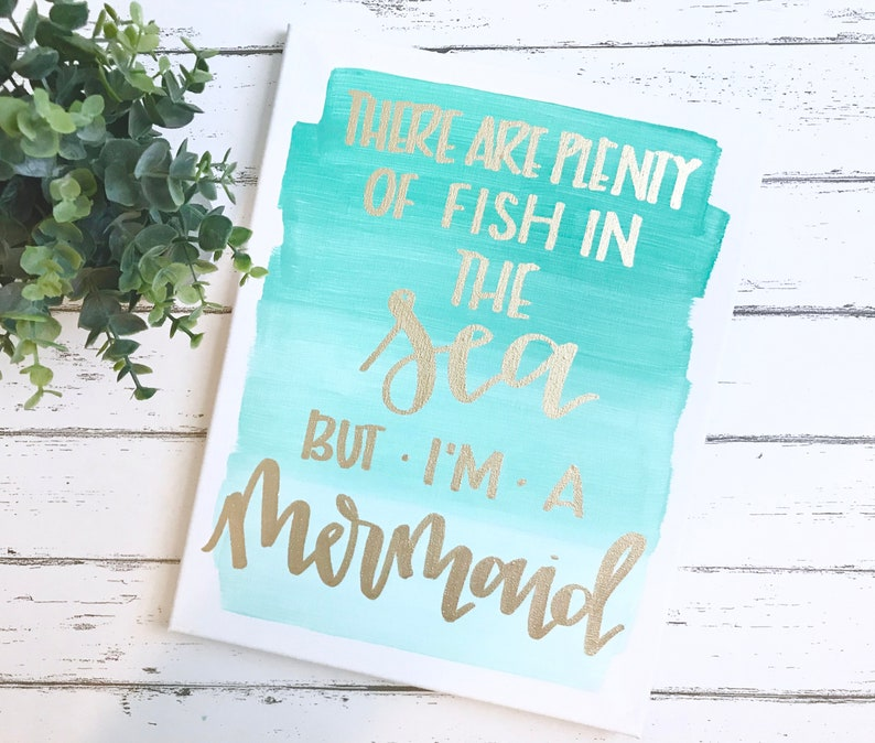 3cf368916e There are plenty of fish in the sea but I'm a mermaid | Etsy
