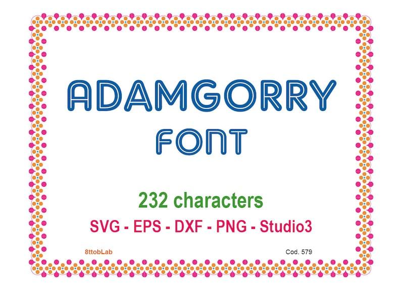 ADAMGORRY BAIXAR FONTE