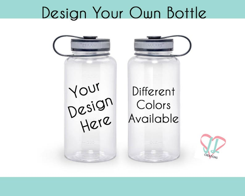Design Your Own Water Bottle  Water Bottle  Personalized image 0