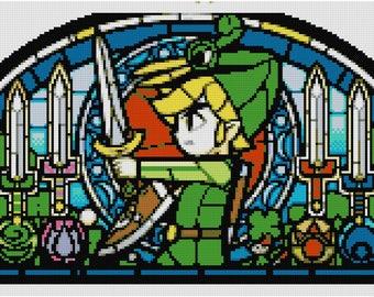 Legend of Zelda Cross Stitch Pattern: The Minish Cap