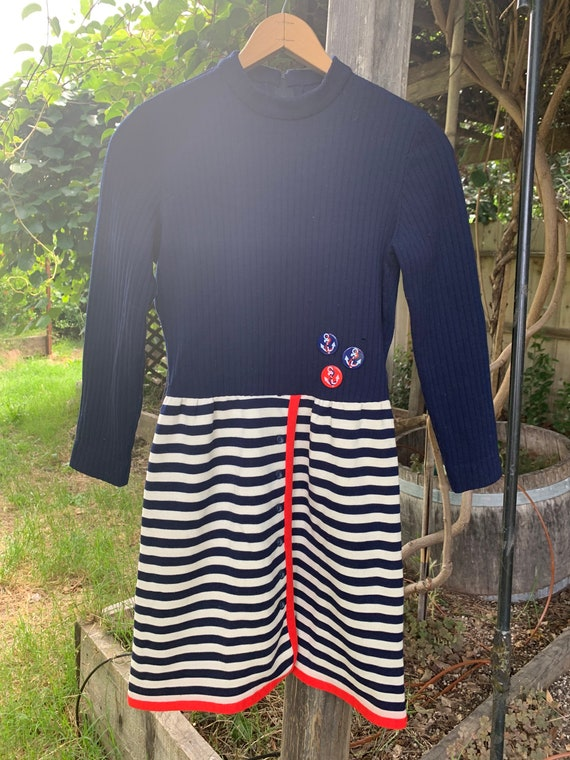 Sailor striped dress