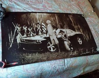 Dodge Challenger George Washington Huge Poster