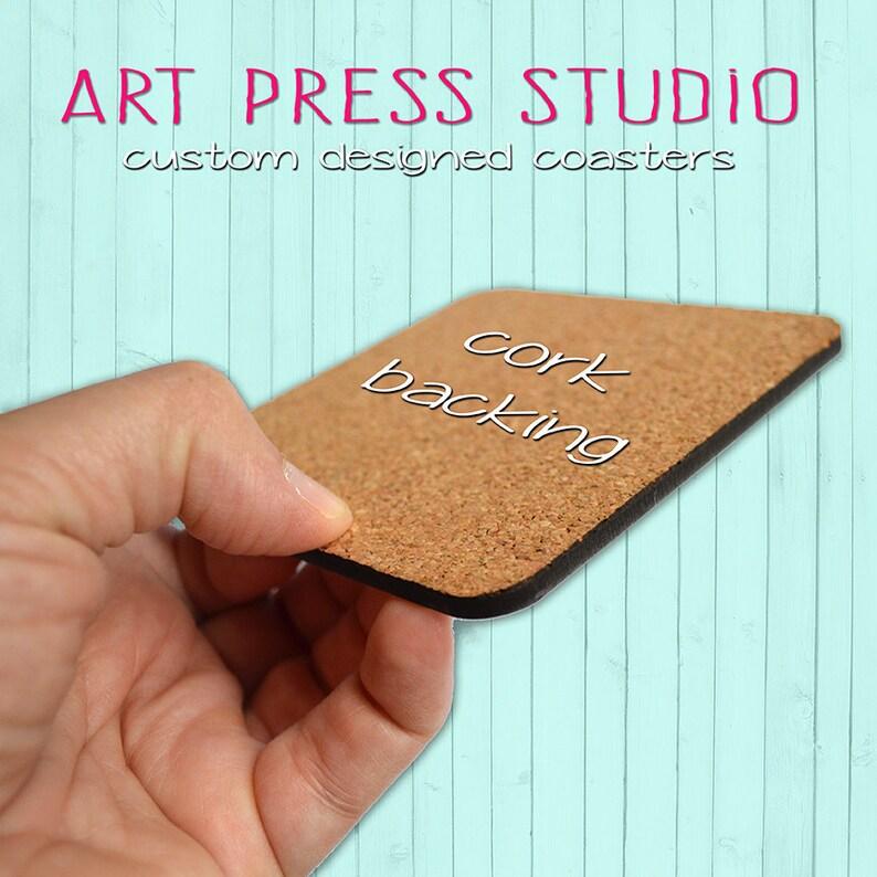 Set of 4 Cork Purple Stone Cork Back Marble Coasters Gift Under 20 Quartz Stone Coasters Boho Marble Coasters Printed Marble Coasters
