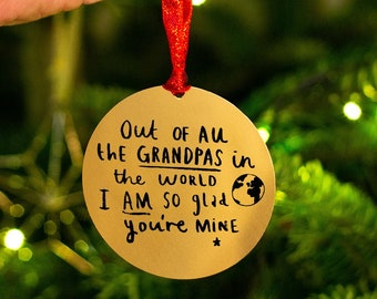 Glass Heart Baubles Gifts Ideas Presents For In Loving Memory At Christmas Grandma Angel Grandpa Hanging Tree New Born Baby 1st First Xmas