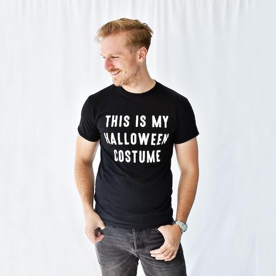 halloween kost m halloween m nner t shirt halloween kost m etsy. Black Bedroom Furniture Sets. Home Design Ideas