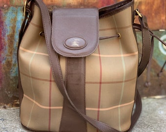 4d43848deb63 Authentic Burberry bag. Burberry bucket bag. Burberry Handbag. Burberry  vintage bag