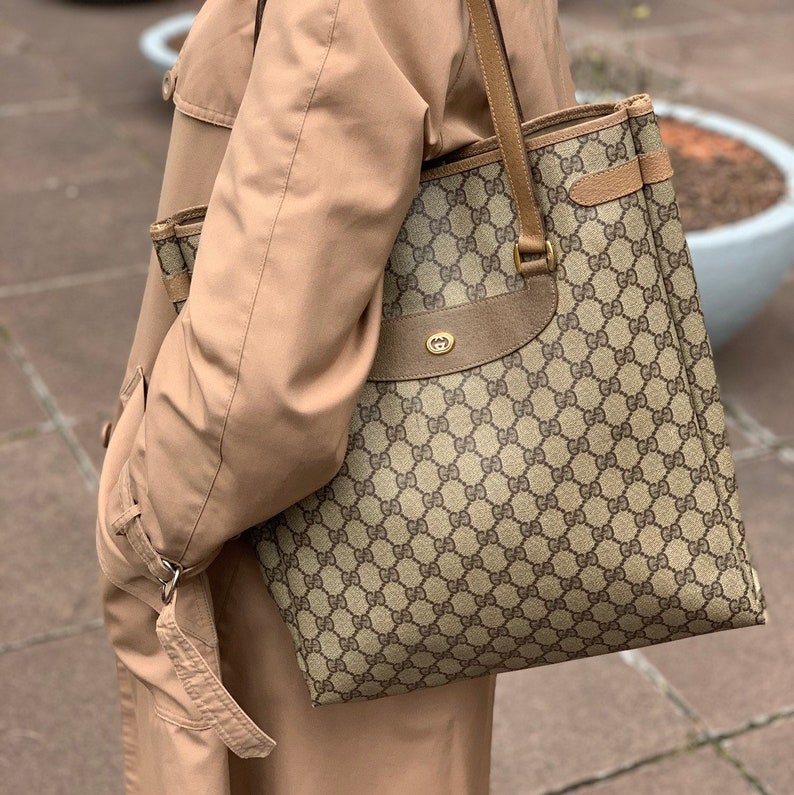 d9a1f8f6a39e Authentic Gucci bag. Gucci tote bag. Gucci monogram bag.