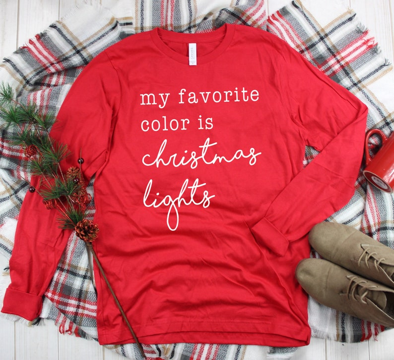 Christmas Shirt  Merry and Bright Shirt  Merry Christmas image 0