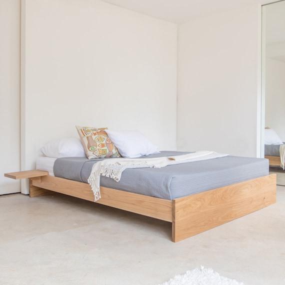Enkel Platform Wooden Bed Frame No, Queen Bed No Headboard