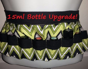 Essential Oil Apron with 15ml Upgrade