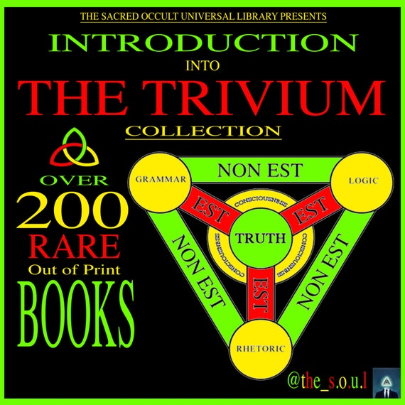 Introduction into The Trivium Collection on ZiP-File by The Sacred Occult  Universal Library (The S O U L)