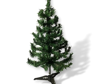 small christmas tree artificial christmas tree with stand green pine tabletop tree approx 2 feet 3598 - Small Artificial Christmas Tree
