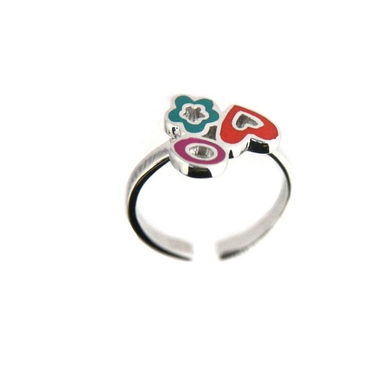 25a22efe9ca36 Agatha Ruiz de la Prada Sterling Silver enamel ring