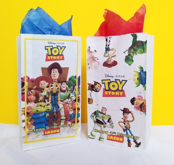 Toy Story 4  Party 10 Loot Bags Birthday Party Favour Decorations Decor