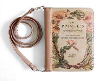 """Book clutch """"The Princess"""""""