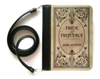 "Book clutch ""Pride and prejudice"""