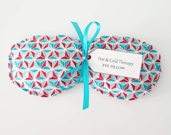 Eye Pillow - Hot & Cold Therapy - Gypsy geometric (flannel)