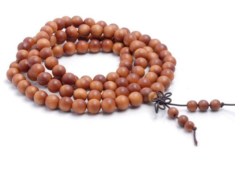x10 90183362-781 10 Strands 108PCS 6mm Fragrant Australia Barbie Sandalwood Grade A Prayer Buddha Mala Meditation Beads Round LOT