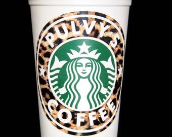 Leopard coffee mug | Etsy