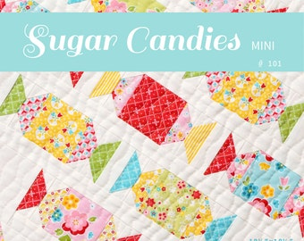 PDF Quilt Pattern - Sugar Candies MINI