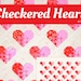Kathy Holscher reviewed PDF Heart Quilt Pattern - Checkered Heart Quilt