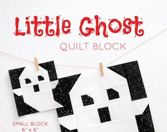 PDF Halloween Quilt Pattern - Ghost quilt pattern