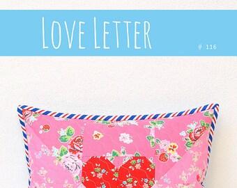 PDF Quilt Pattern - Love Letter