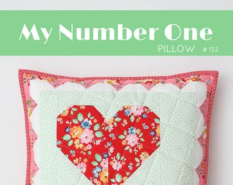 PDF Quilt Pattern - My Number One