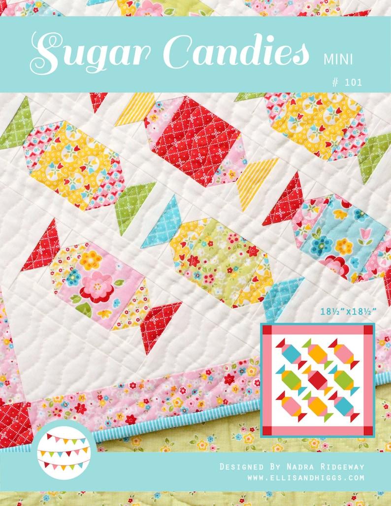 PDF Quilt Pattern  Sugar Candies MINI  image 0